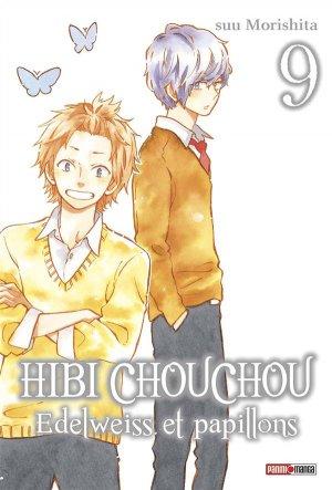 couverture, jaquette Hibi Chouchou - Edelweiss et Papillons 9  (Panini manga)
