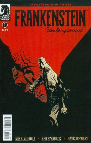Frankenstein underground édition Issues (2015)