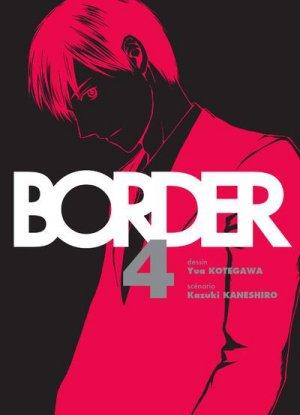 couverture, jaquette Border 4  (Komikku Editions)