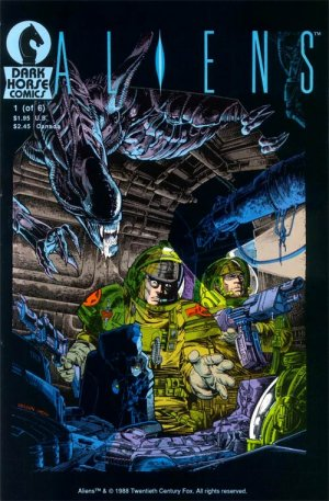 Aliens édition Issues V1 (1988 - 1989)