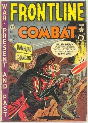 Frontline combat édition Issues (1951 - 1954)
