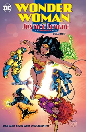 Wonder Woman and Justice League America édition TPB softcover (souple)