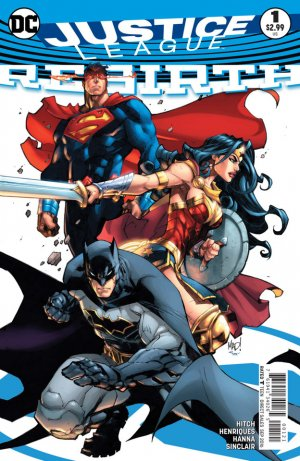 Justice League Rebirth # 1 Issues