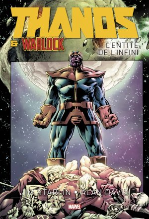 Thanos And Adam Warlock - L'Entité de l'Infini édition TPB hardcover (cartonnée)