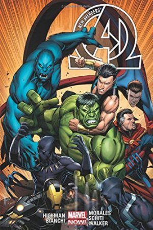 New Avengers # 2 TPB hardcover (cartonnée) - Issues V3