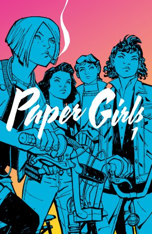 Paper Girls édition TPB softcover (souple)