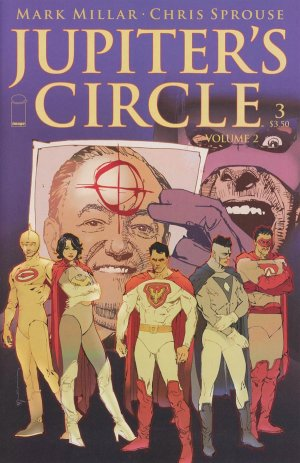 Jupiter's Circle - Volume 2 # 3 Issues