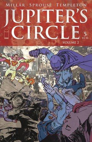 Jupiter's Circle - Volume 2 # 5 Issues