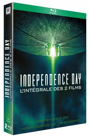 Independence day + Independence Day Resurgence édition Combo