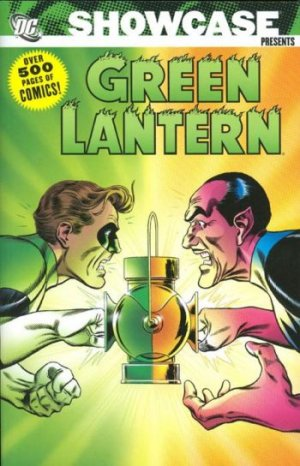 Green Lantern # 3 Showcase