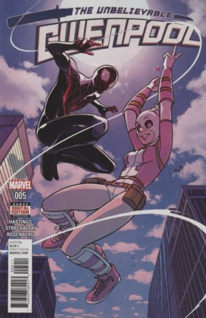 Gwenpool # 5 Issues (2016 - 2018)