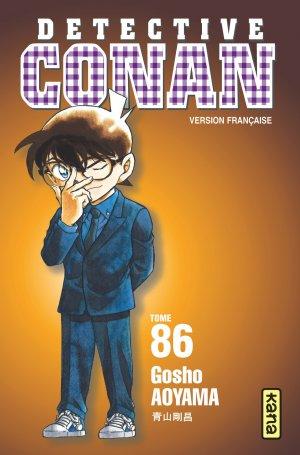 couverture, jaquette Detective Conan 86  (kana) Manga
