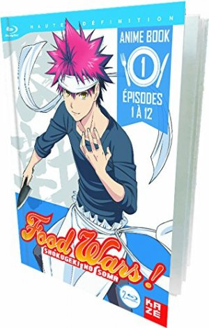 Food wars édition Anime Book Blu-ray