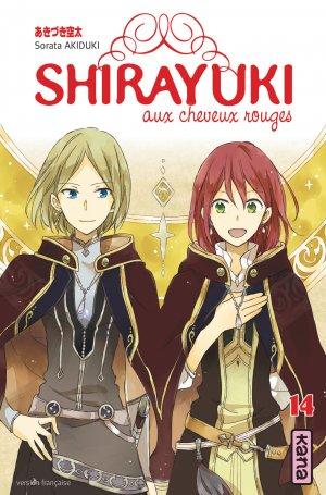 couverture, jaquette Shirayuki aux cheveux rouges 14  (kana) Manga