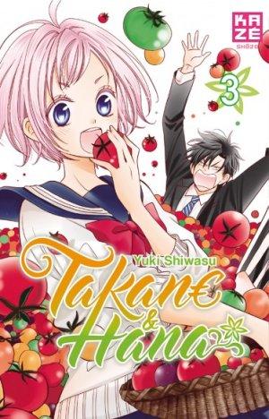 couverture, jaquette Takane & Hana 3  (kazé manga) Manga