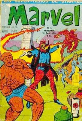 Fantastic Four # 5 Kiosque (1970 - 1971)