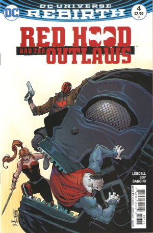 Red Hood and The Outlaws # 4 Issues V2 (2016 - Ongoing) - Rebirth