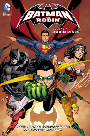 Batman & Robin # 7 TPB hardcover (cartonnée) - Issues V2