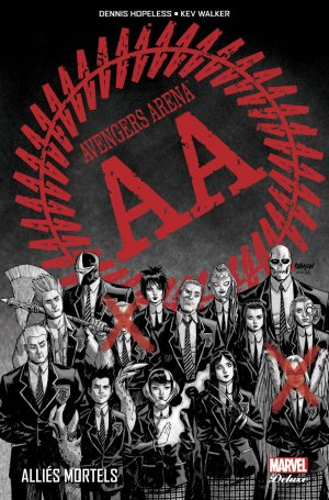 Avengers Arena édition TPB Hardcover - Marvel Deluxe