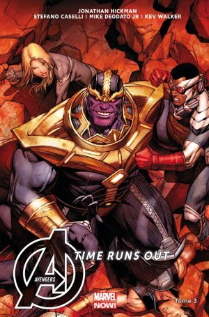 New Avengers # 3 TPB Hardcover - Marvel Now!