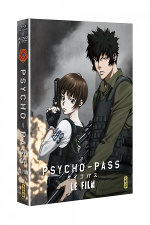 Psycho-Pass Le Film édition Combo Blu-Ray+DVD
