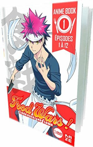 Food wars édition Anime Book DVD