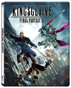 Final Fantasy XV : Kingsglaive édition Steelbook DVD Blu-ray