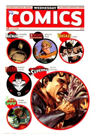 Wednesday comics édition Issues (2009)