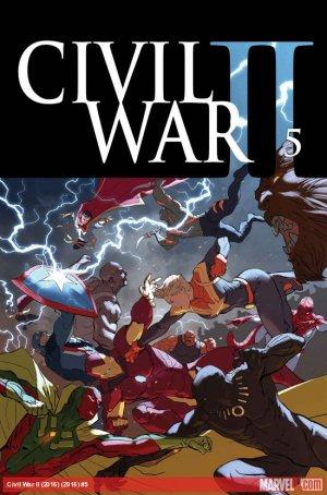 Civil War 2 # 5 Issues (2016)