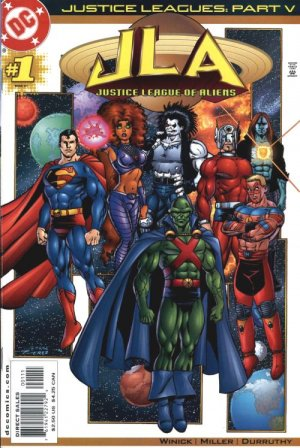 Justice Leagues - Justice League of Aliens édition Issues