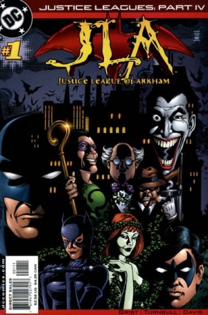 Justice Leagues - Justice League of Arkham 1 - Justice Leagues Part IV: Taking Over the Asylum