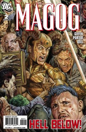 Magog # 2 Issues (2009 - 2010)