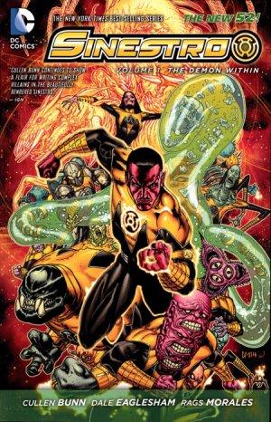 Sinestro édition TPB softcover (souple)