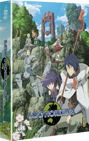 Log Horizon édition DVD
