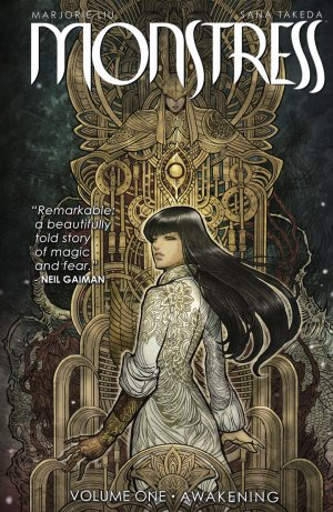 Monstress édition TPB softcover (souple)