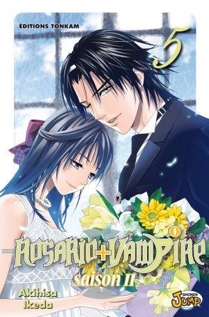 couverture, jaquette Rosario + Vampire - Saison II 5  (Tonkam) Manga