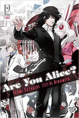 couverture, jaquette Are You Alice? 12 Américaine (Yen Press)