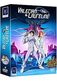 couverture, jaquette Valérian & Laureline  Valérian & Lauréline (Europa corp.) Série TV animée