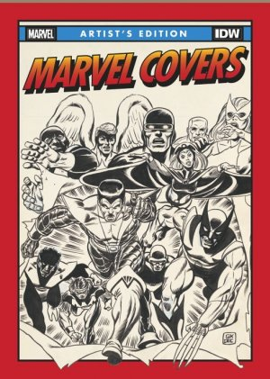 Marvel Covers Artist's Edition édition TPB hardcover (cartonnée)