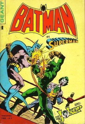 Batman et Superman Géant édition Kiosque (1976 - 1979)