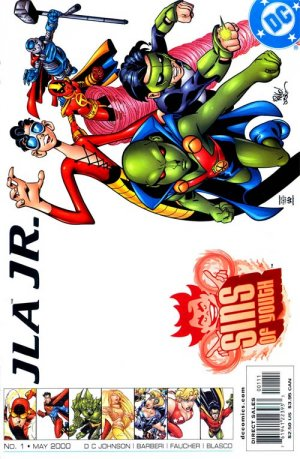 Sins of Youth - JLA Jr. édition Issues