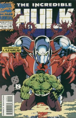 The Incredible Hulk # 19 Issues V1 - Annuals (1976 - 1997)