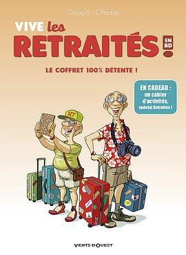 Les retraités en BD édition coffret