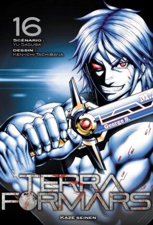 couverture, jaquette Terra Formars 16  (kazé manga) Manga