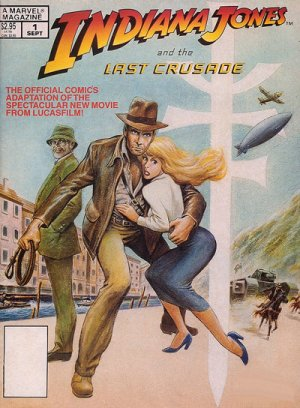Indiana Jones and the Last Crusade édition Magazine