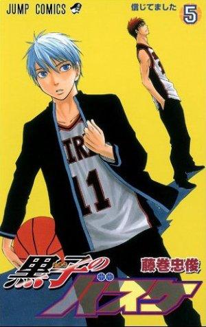 couverture, jaquette Kuroko's Basket 5  (Shueisha)