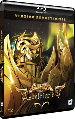 Saint Seiya: Soul of Gold édition Blu-ray - Remasterisée