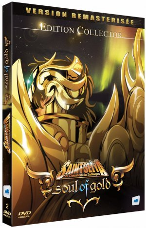 Saint Seiya: Soul of Gold édition DVD - Remasterisée