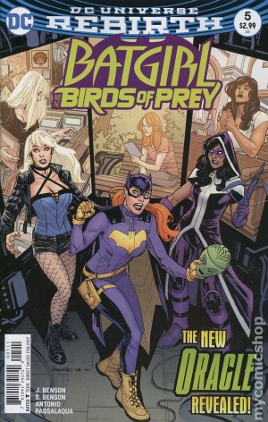 Batgirl and the Birds of Prey # 5 Issues V1 (2016 - 2018)