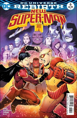 New Super-Man # 6 Issues (2016 - 2018)